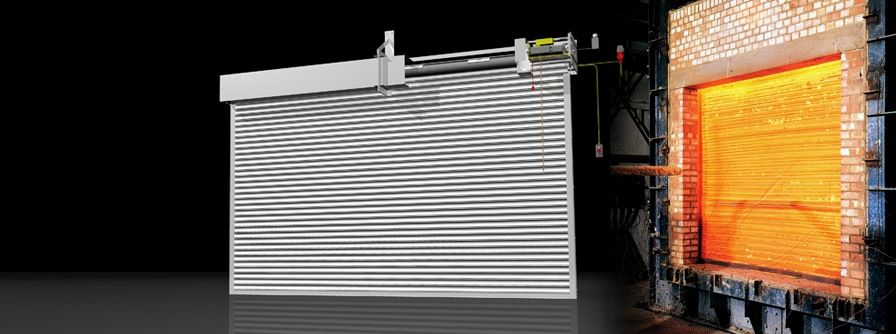 A200/Flameshield 240 Fire Shutter - Industrial - Galvanised Finish