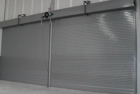 A200/Flameshield 240 Fire Shutter - Galvanised finish
