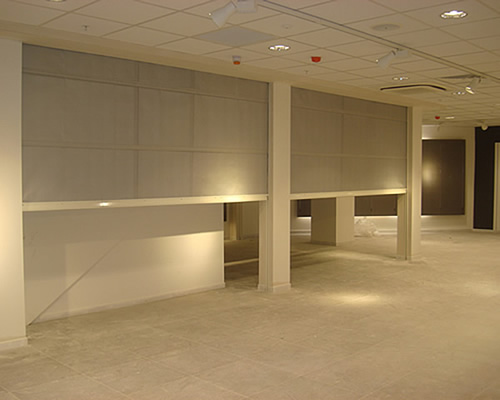 High quality fire resistant roller shutters and fire curtains in London