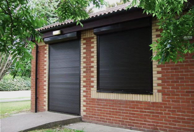 high quality security roller shutters in London and Essex