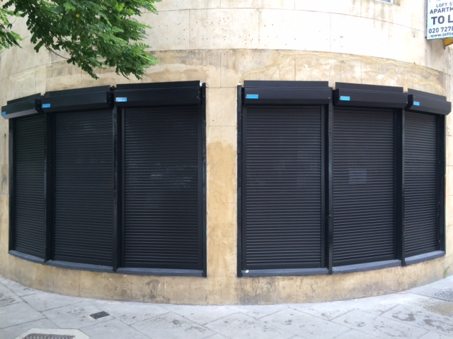 Aluminium Perforated Roller Shutters