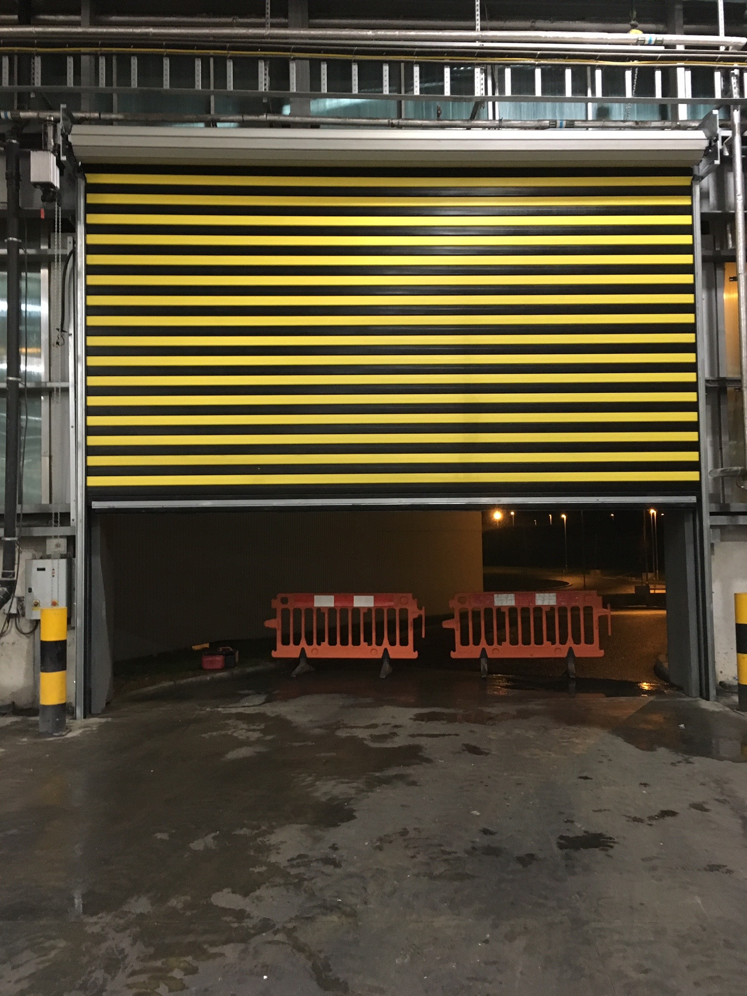 Fast Action Insulated Roller Shutter