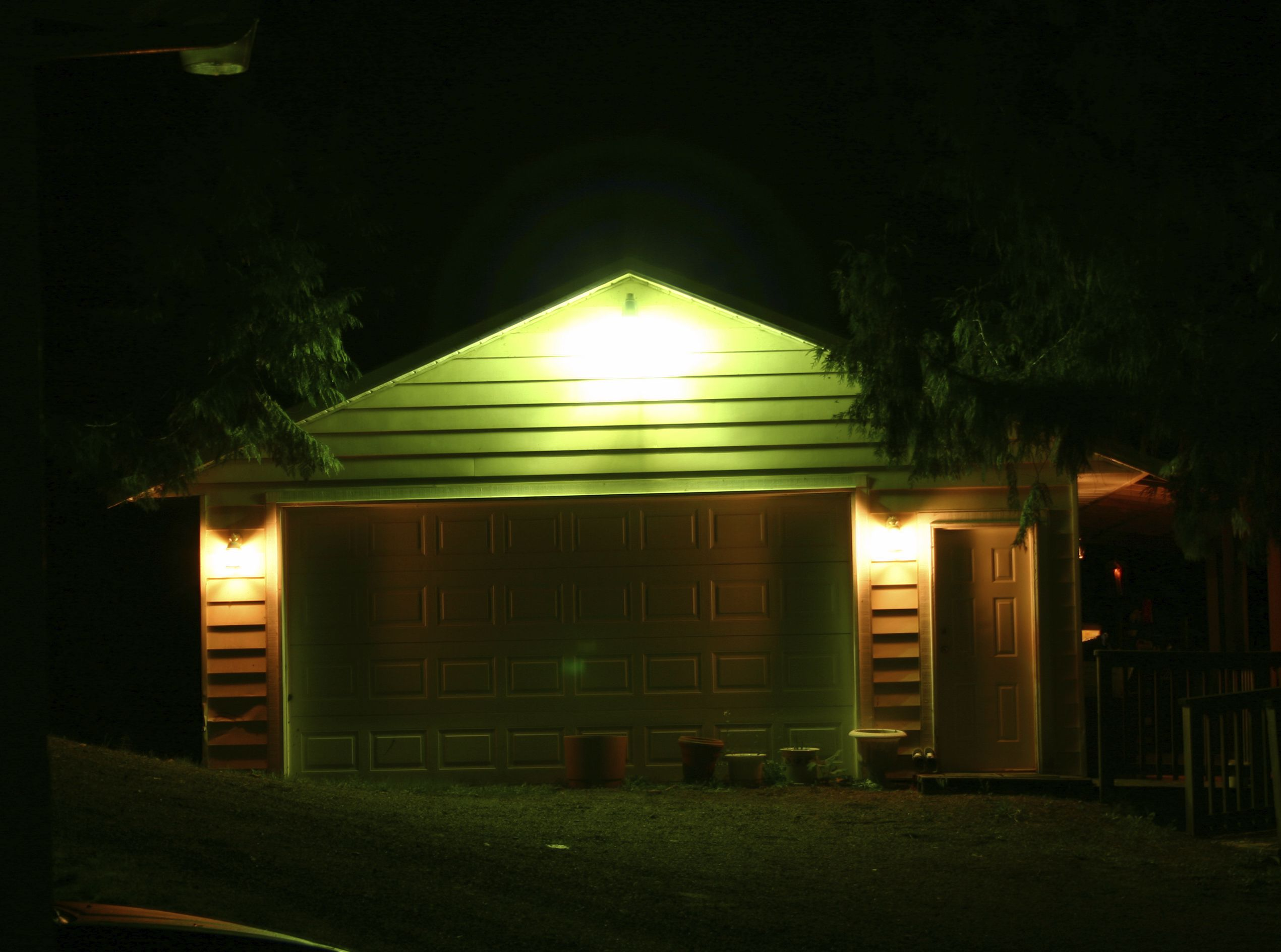 Garage At Night - iStock_000000164339_Medium