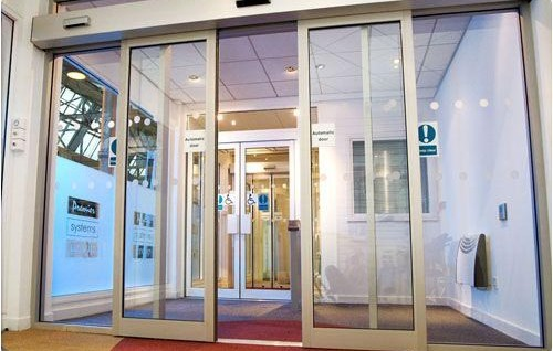 Automatic Glass Doors London Manual Glass Doors London