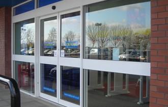 Automatic Glass Doors London, Manual Glass Doors London