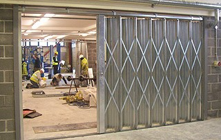 industrial sliding doors in london essex abacus shutters