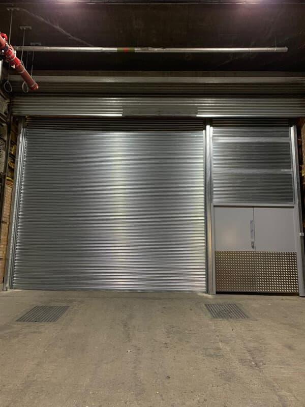 Steel Roller Shutter-Double Leaf Steel Door-Infills