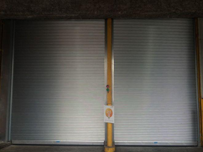 Steel Roller Shutter-Solid-Galvanised