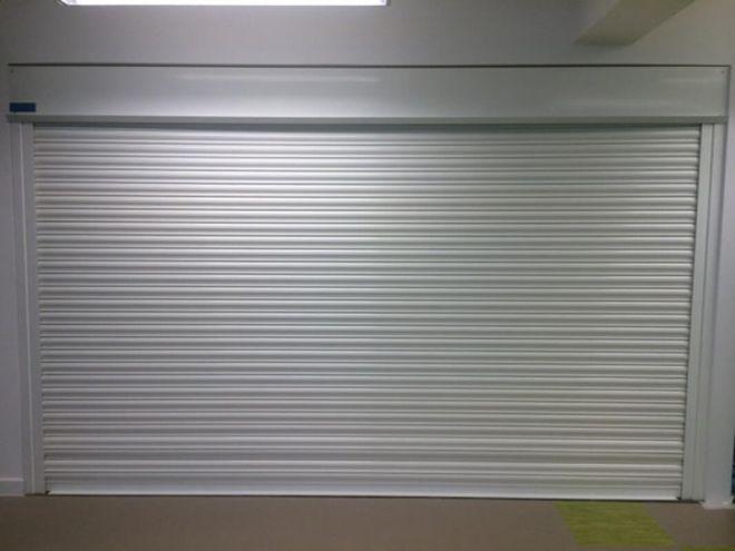 Steel Roller Shutter-Solid-White