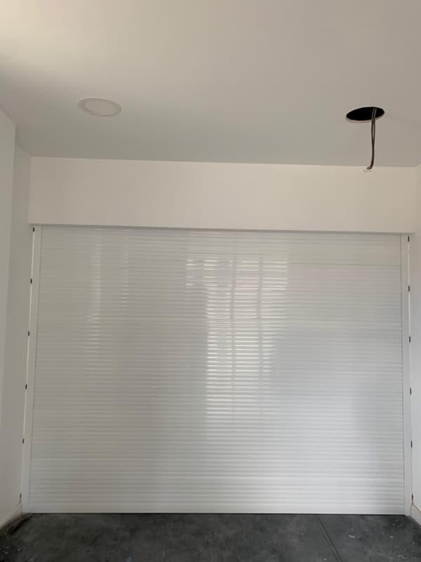 Aluminium Roller Shutter-White