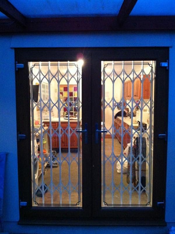 Collapsible Lattice Gate-CX2-Door-Double