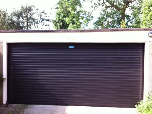 Garage Roller Shutter-Residential-Black