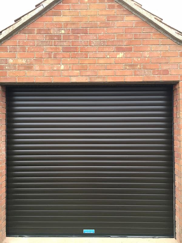 Garage Roller Shutter-Residential-Dark Brown