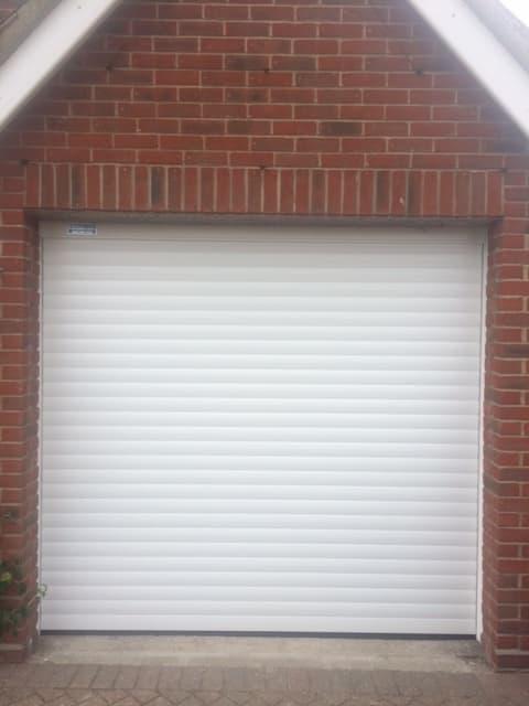 Garage Roller Shutter-Residential-White