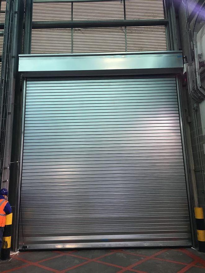 Insulated Roller Shutter-Galvanised-Internal