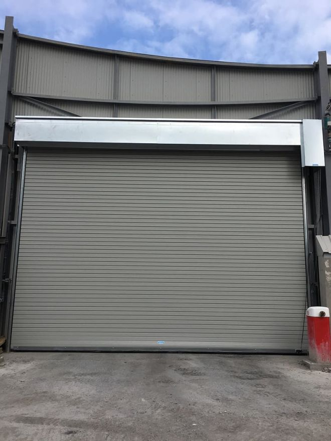 Insulated Roller Shutter-Goosewing Grey-1