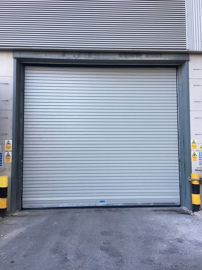 Insulated Roller Shutter-Goosewing Grey