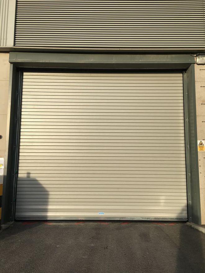 Insulated Roller Shutter-Grey-External