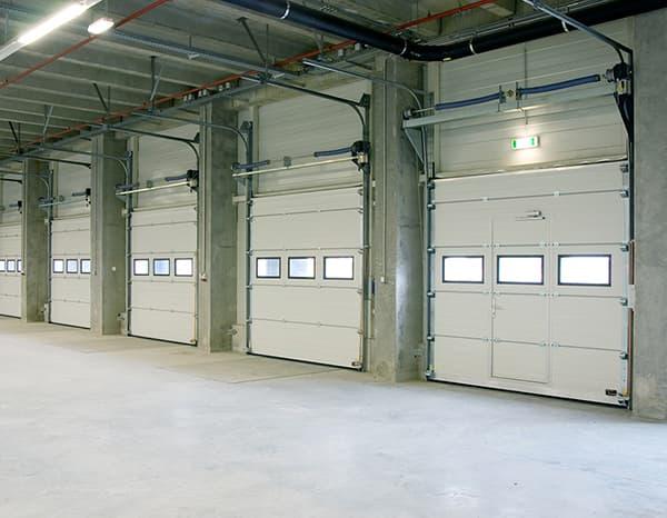 Sectional Door-White-Internal