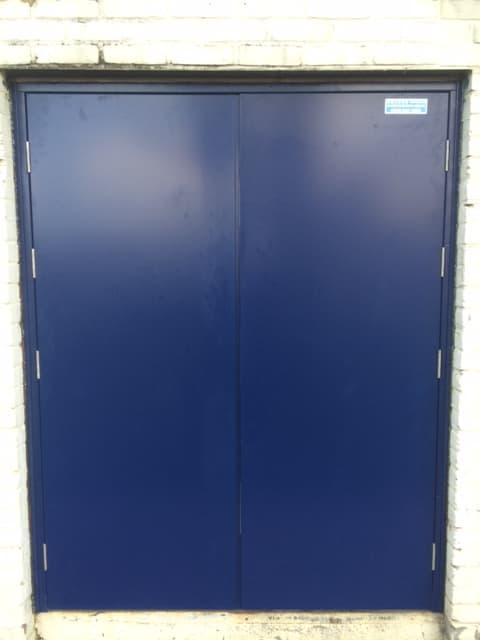 Steel Door-SD3-Double-Outside